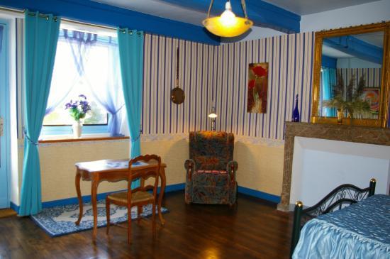 Gite chez JO : Chambre Bleu