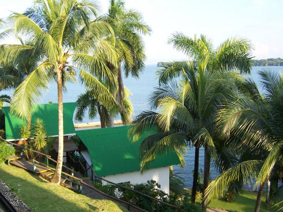 Hotel Villa Caribe : View from our balcony
