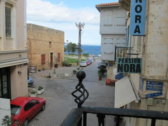 Hotel Hera: View of sea from Balcony