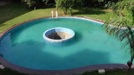 SVInns Dwarkadhish Resort : The pool from our room