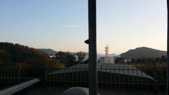 Senpokaku: 客室からの眺め
