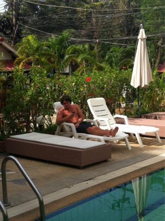 Surin Sweet Hotel: Swimming pool!