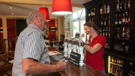 Saint-Pair-sur-Mer, France: Bar