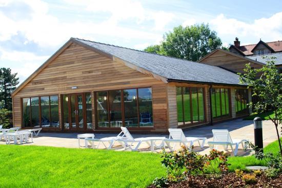 Llechwedd, UK: Berthlwyd Holiday Park Sun Terrace