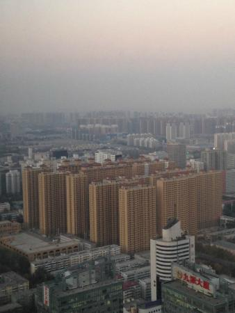 Hilton Shijiazhuang : View from the room