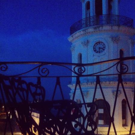 Hotel Conde de Penalba: Вид с балкона