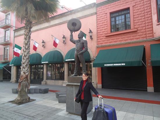Hotel Plaza Garibaldi: Frente do Hotel