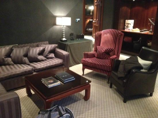 Hotel Du Vin At One Devonshire Gardens Part Of The Livingroom In Krug Suite