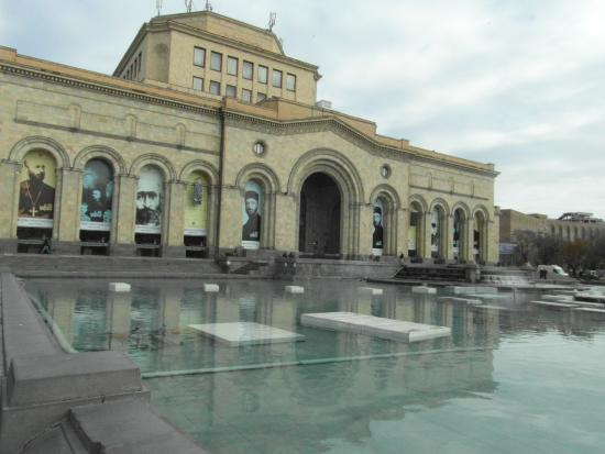 History Museum of Armenia: Museum building, right on Republic Square