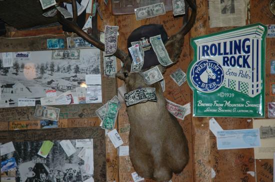 The Bucksnort Saloon: Buck with Bucks