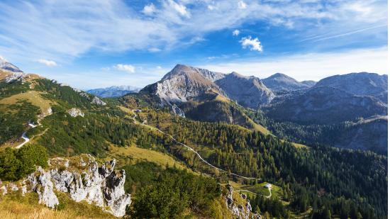 Nationalparkzentrum: Nationalpark Berchtesgaden - Blick vom Jenner