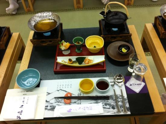 Nikko Senhime Monogatari : Sumptious Japanese dinner