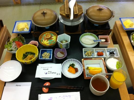 Nikko Senhime Monogatari : Beautiful Japanese breakfast