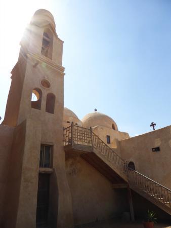 Deir Amba Bischoi: Monastero Santa Vergine.. interno!!