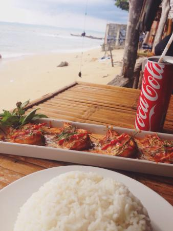Beach House Restaurant: Perfect red curry with prawns
