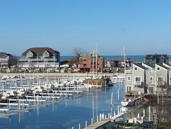 New Buffalo, MI: harbor view