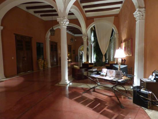 Hotel Hacienda VIP : Reception area