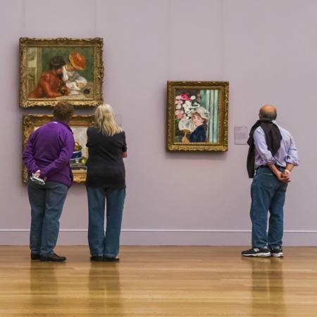 Williamstown, Массачусетс: The Clark's collection features nearly 30 paintings by Renoir.