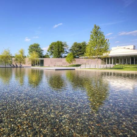 Williamstown, MA: Reflecting pool at the Clark Art Institute