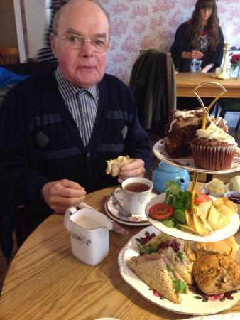 The Olde Young Tea House: My little grandad loves the teahouse and tea bees!