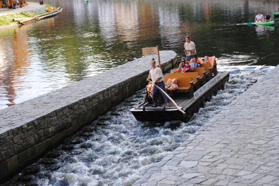 Historical Wooden Raft