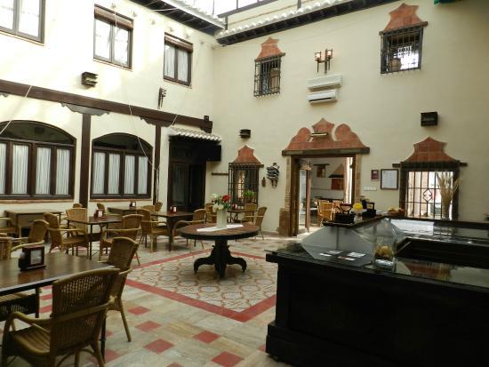 Hotel Rural Casa Grande Almagro: Zona del desayuno