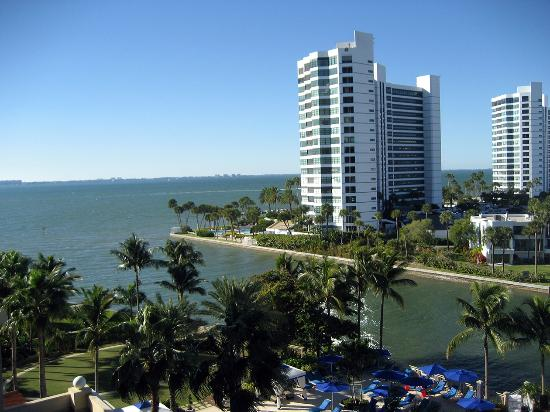 View of the hotel from the beach picture of the ritz for Ritz carlton sarasota