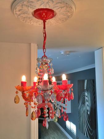 Lindberg Suites: Room Light