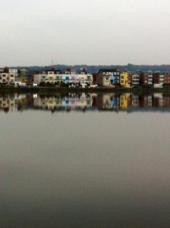 West Kirby Beach: Reflection, Marine Lake