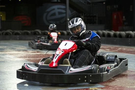 ‪TeamSport Indoor Karting‬