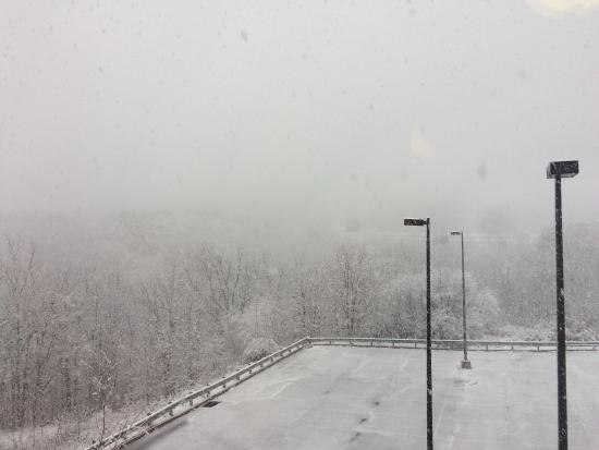 Extended Stay America - Wilkes-Barre - Hwy. 315: Beautiful snowfall covering the trees and mountain
