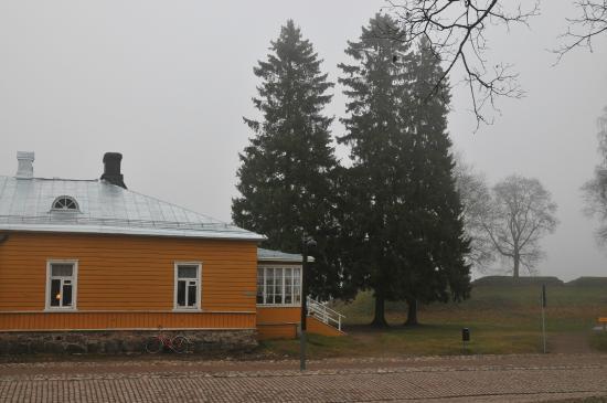 Lappeenranta, Finlande : Майорша и шикарные ели