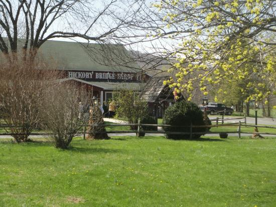 Hickory Bridge Farm: Hickory Bridge in Spring!