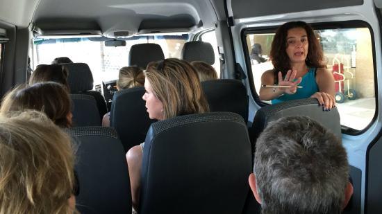 Martha Vasconcellos -  Private Tours in Rio: Martha in action