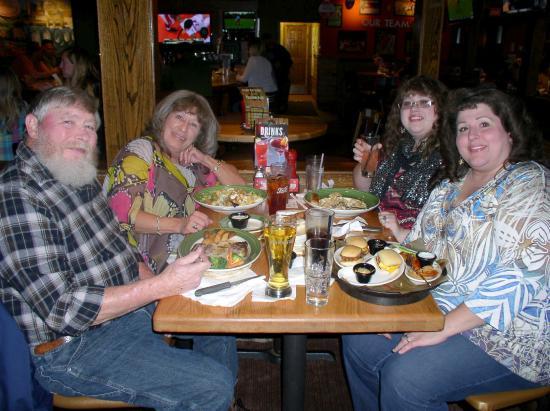 Autumn's 21st birthday dinner at Applebee's