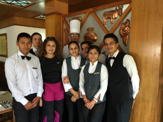 Caring Kitchen Staff Picture Of Pokhara Grande Tripadvisor