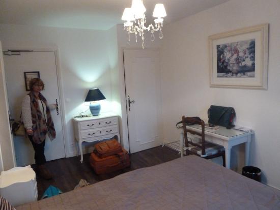 Le Parc de l'Hostellerie : La chambre