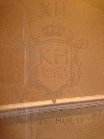 Edinburgh Regency Guest House : Front door