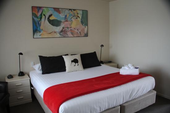 The Alpine Rose Motel: Loved the Kiwi Pillow