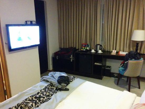 St. Mark Hotel: Télé