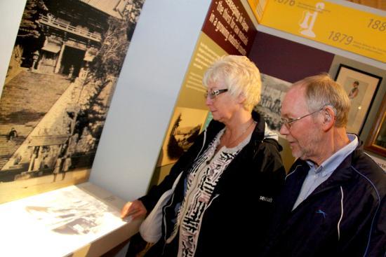 The Fusilier Museum: Interactive exhibits