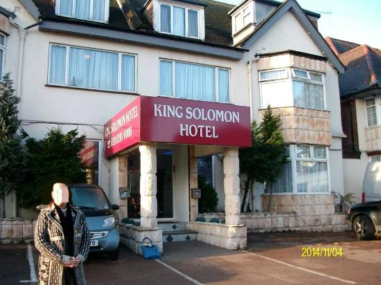 King Solomon Hotel: fachada do hotel