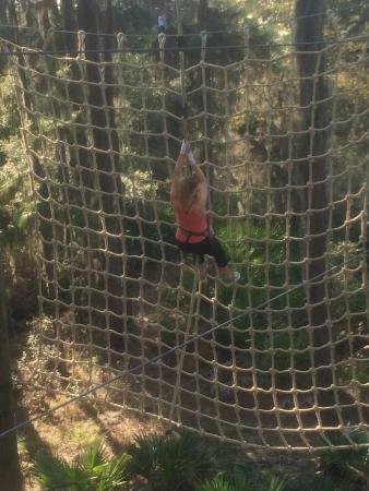 Bradenton, Floryda: Rope swing