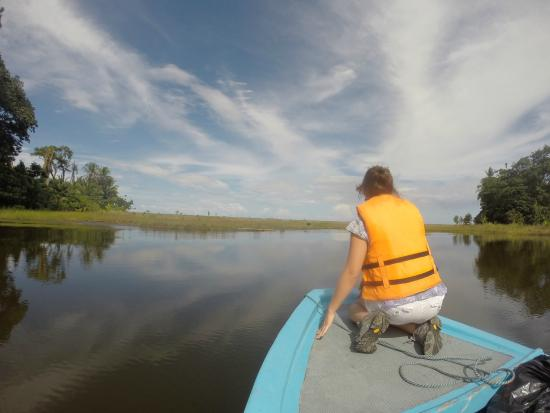 Casa Grande Ecolodge at Pacuare Reserve: The canal and the ocean