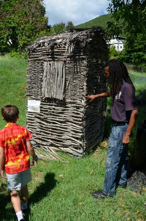 Caribbean Historical Tours!: Slaves used to live in this small shack