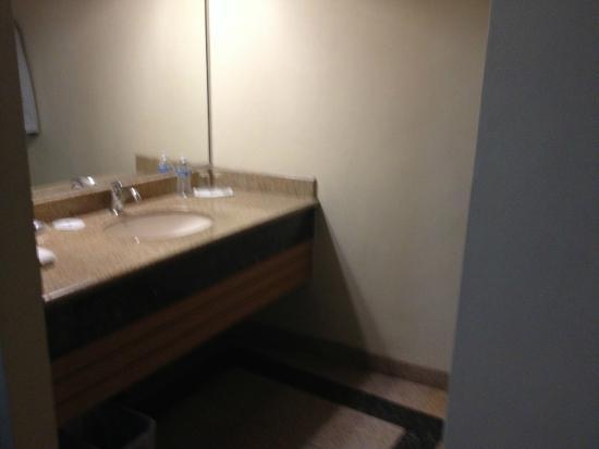 Aqua Rio Hotel : Room 215 Sink Area