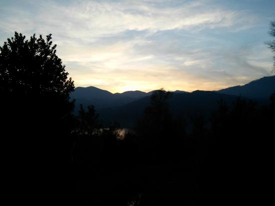Camping Royal: Tramonto di novembre 2014