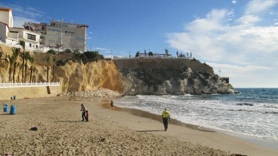 Playa Mal Pas: Вот и весь пляж!