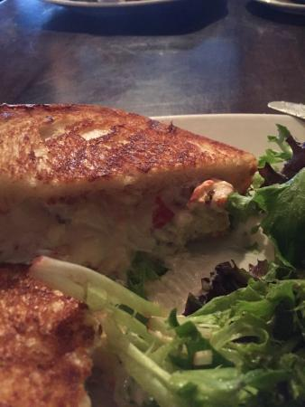 Victoria Gastro Pub: Lobster grilled cheese