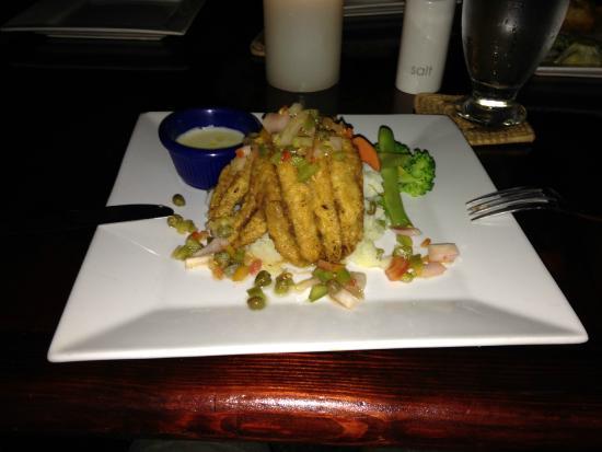 Crave Restaurant: Flying fish